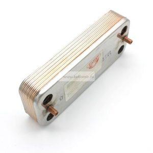 63041310091P Вторичный теплообменник Baxi Eco Classic