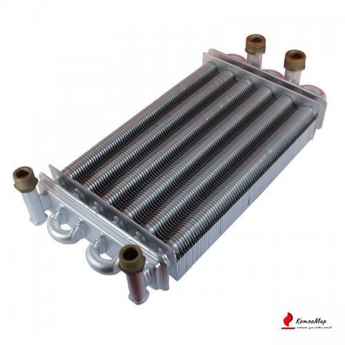 Теплообменник битермический на котел Electrolux GCB 24 Basic AA10070014