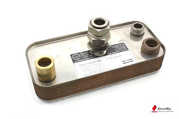 Вторичный теплообменник Immergas 1.013430, 3.015436